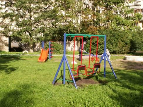 Фото детской площадки во дворе своими руками
