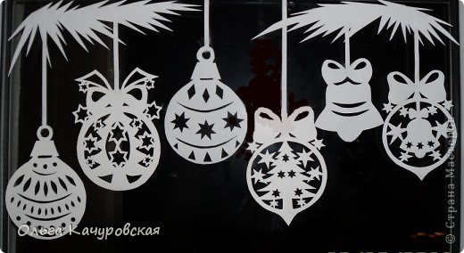 Трафареты на новый год 2015 своими руками фото