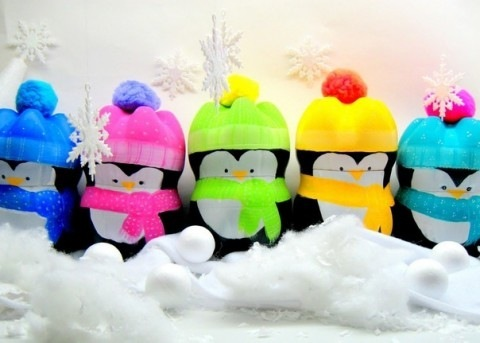 Поделка пингвины своими руками