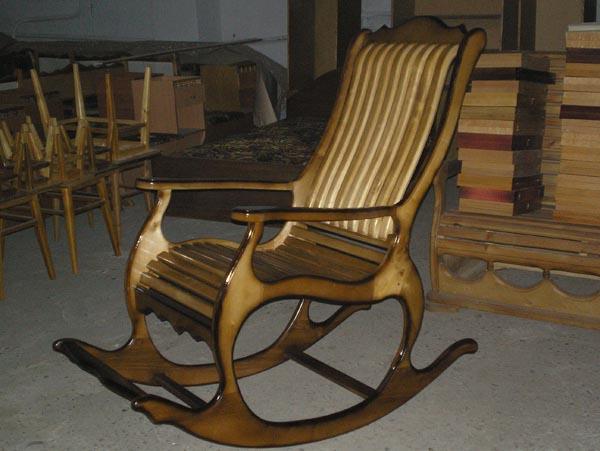 Фото кресло качалка своими руками