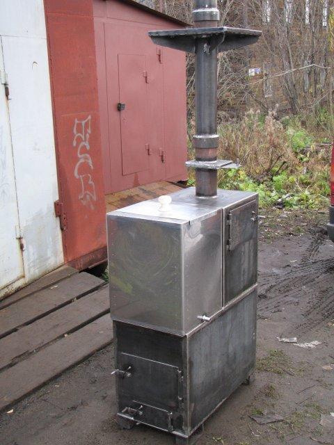 Печка на из кирпича для дома своими